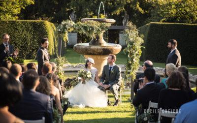 Mariage au Château de Bagnols