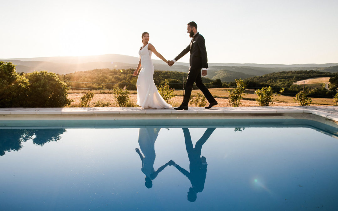 Mariage intimiste dans le Luberon